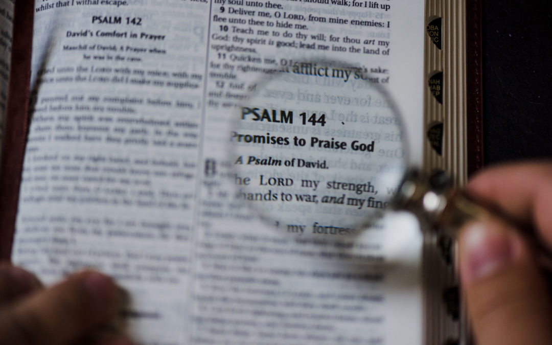 Bible Study with Pastor Scott