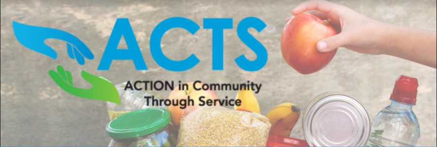 Donate Items for ACTS Food Pantry