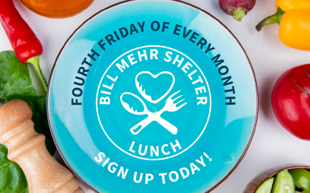 Bill Mehr Shelter Lunch on May 27