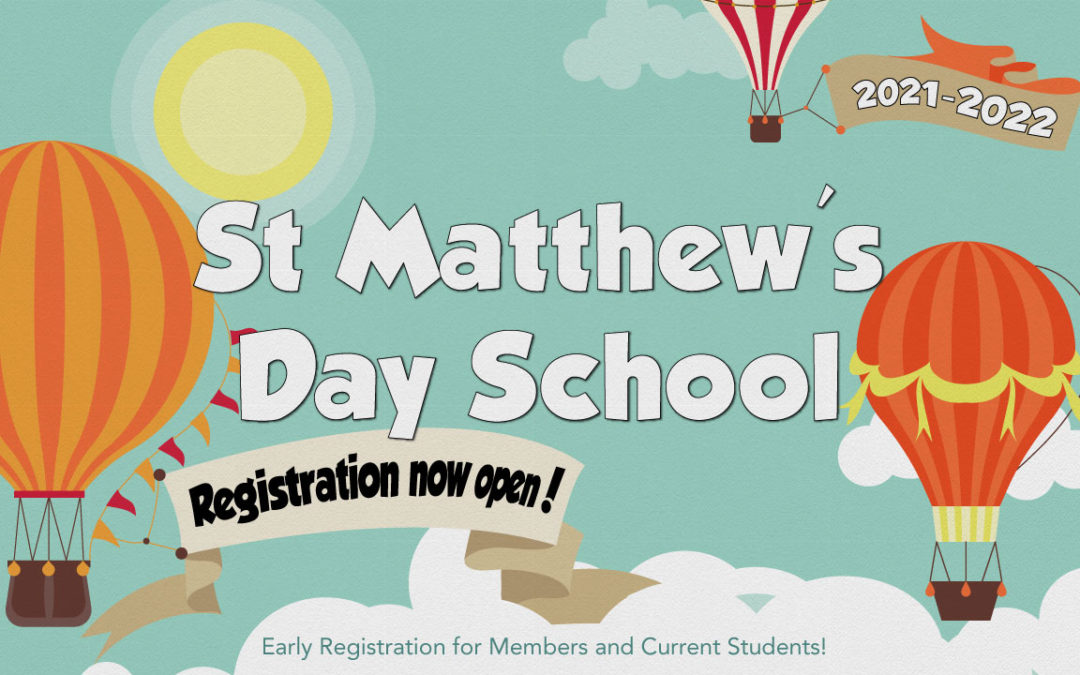Day School Registration Open