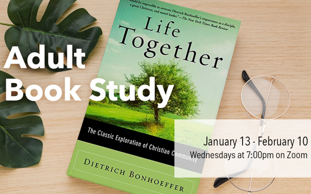 Adult Discipleship Study: Life Together