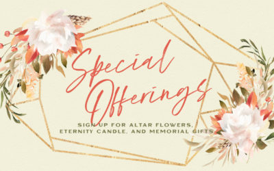 Make a Special Offering