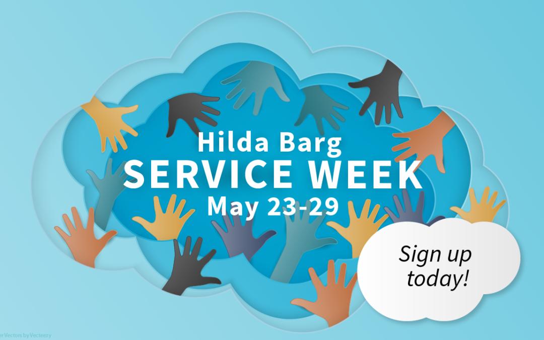 Hilda Barg Service Week May 23-29