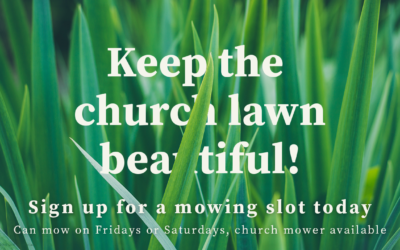 Summer Mowing Sign Up